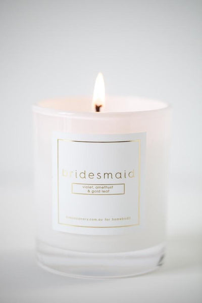 Bridesmaid Candle - Homebodii
