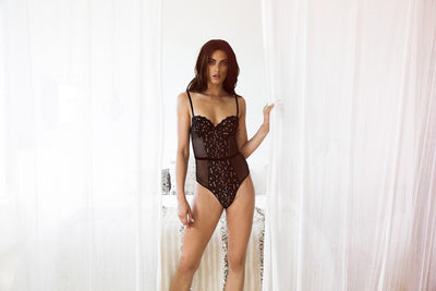 Ingrid Bodysuit - Black - Homebodii