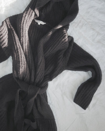 Ultimate Lux Robe - Charcoal
