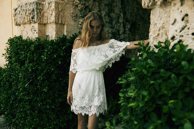 Juannie Lace Dress - Homebodii