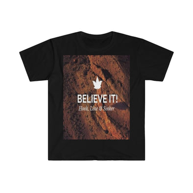 Men's Fitted Short Sleeve Tee - Believe It