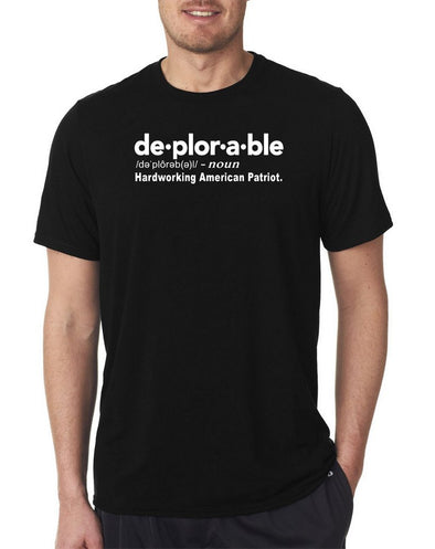 """Deplorable""  Political Tee Shirt 2019"