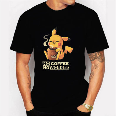 """No Coffee No Workee T Shirt"