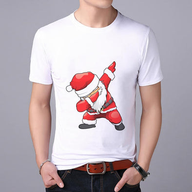 Santa Claus print MEN's T-shirt 2019