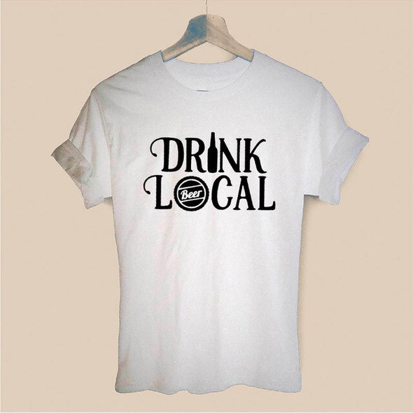 """Less Thinky More Drinky"" T Shirt"