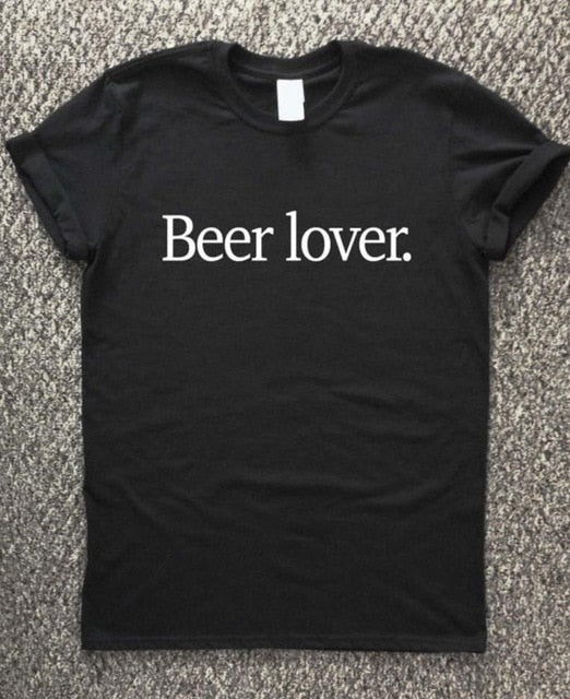 Beer Lover T Shirts For Ladies