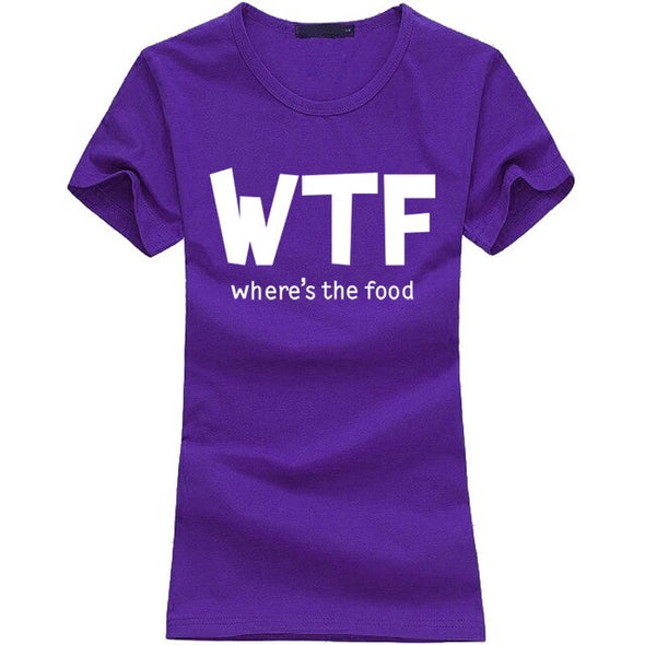 """WTF women t shirt, soft, comfortable and durable"