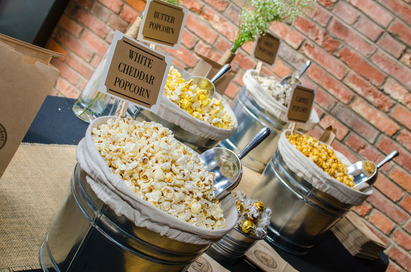 The Secret to a Successful Wedding Popcorn Bar