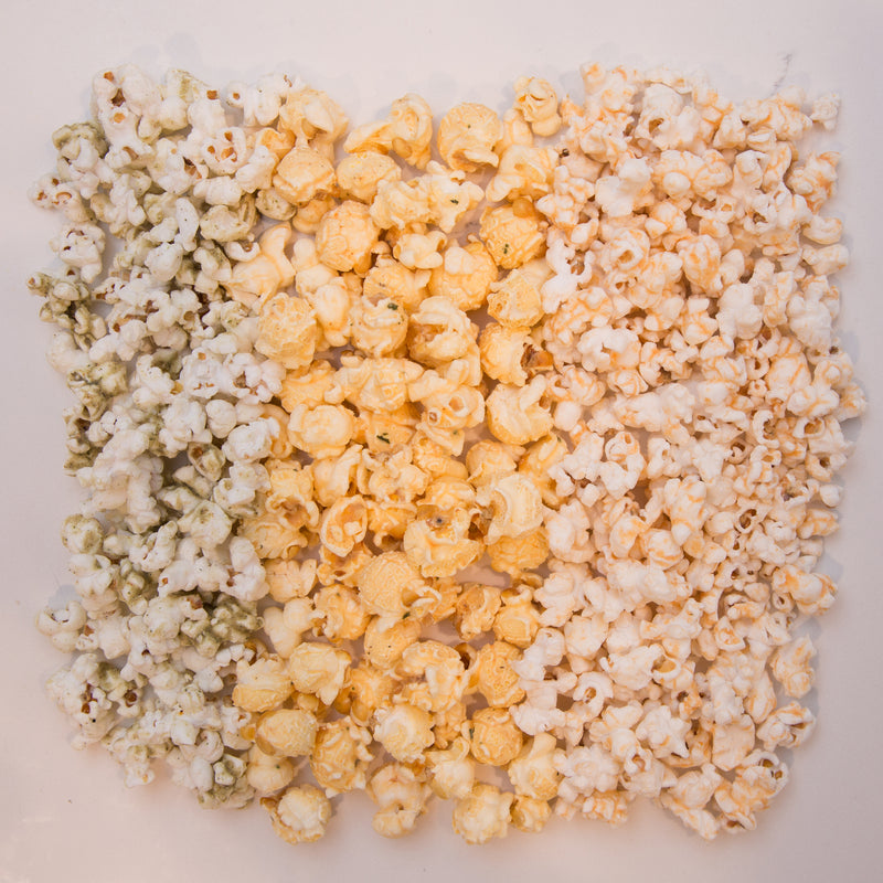 Maize Gourmet Spice Flight Medium Popcorn Gift Box - 3 Bags