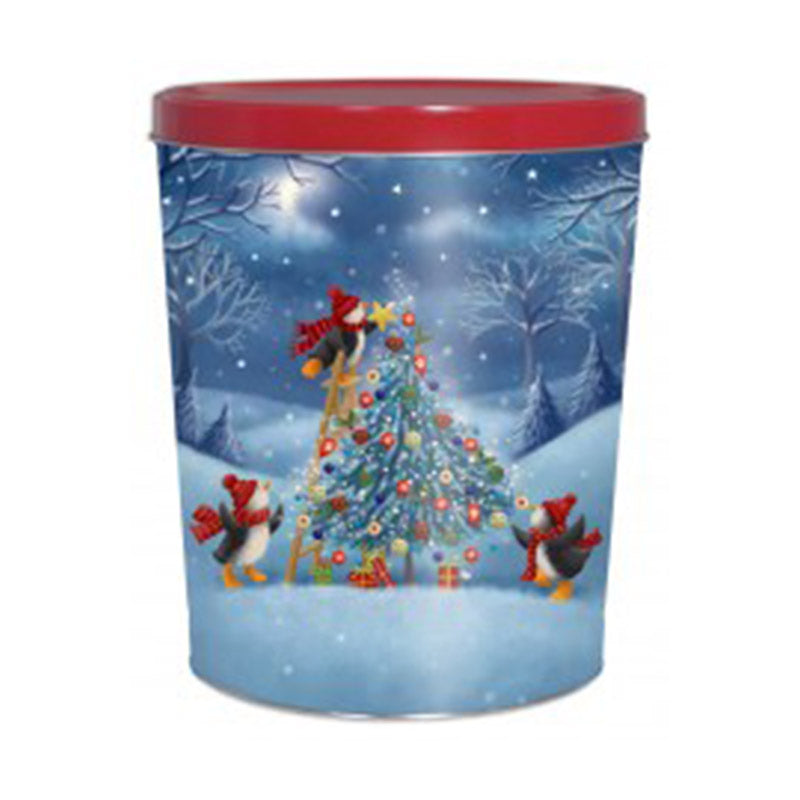 Assorted Style Holiday Tin - 3.5 Gallon