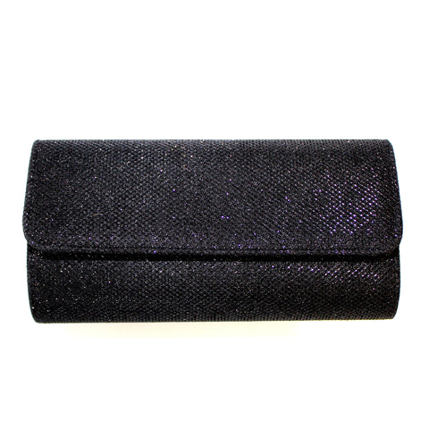 Black Crystal Clutch