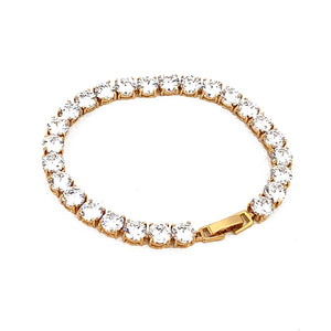 Load image into Gallery viewer, Gold Delicate Bracelet