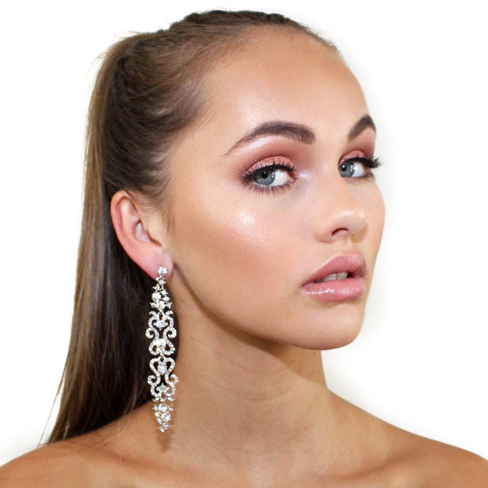 Sliver Fairy Light Earrings