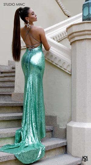 Load image into Gallery viewer, Mint Bombshell Luxe