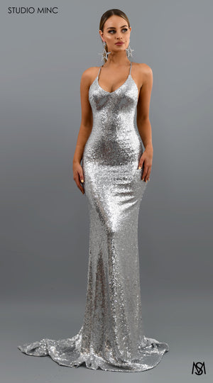 Load image into Gallery viewer, Silver Bombshell Luxe