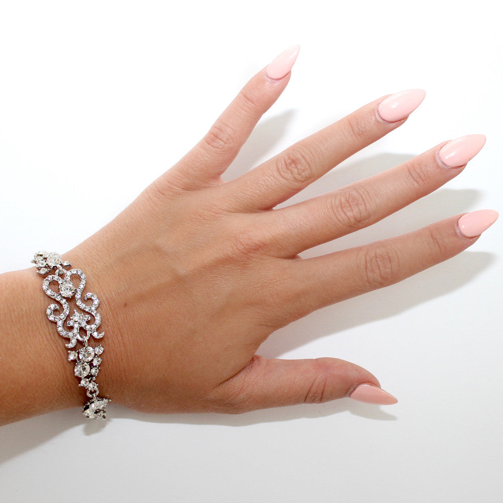 Silver Fairy Light Bracelet