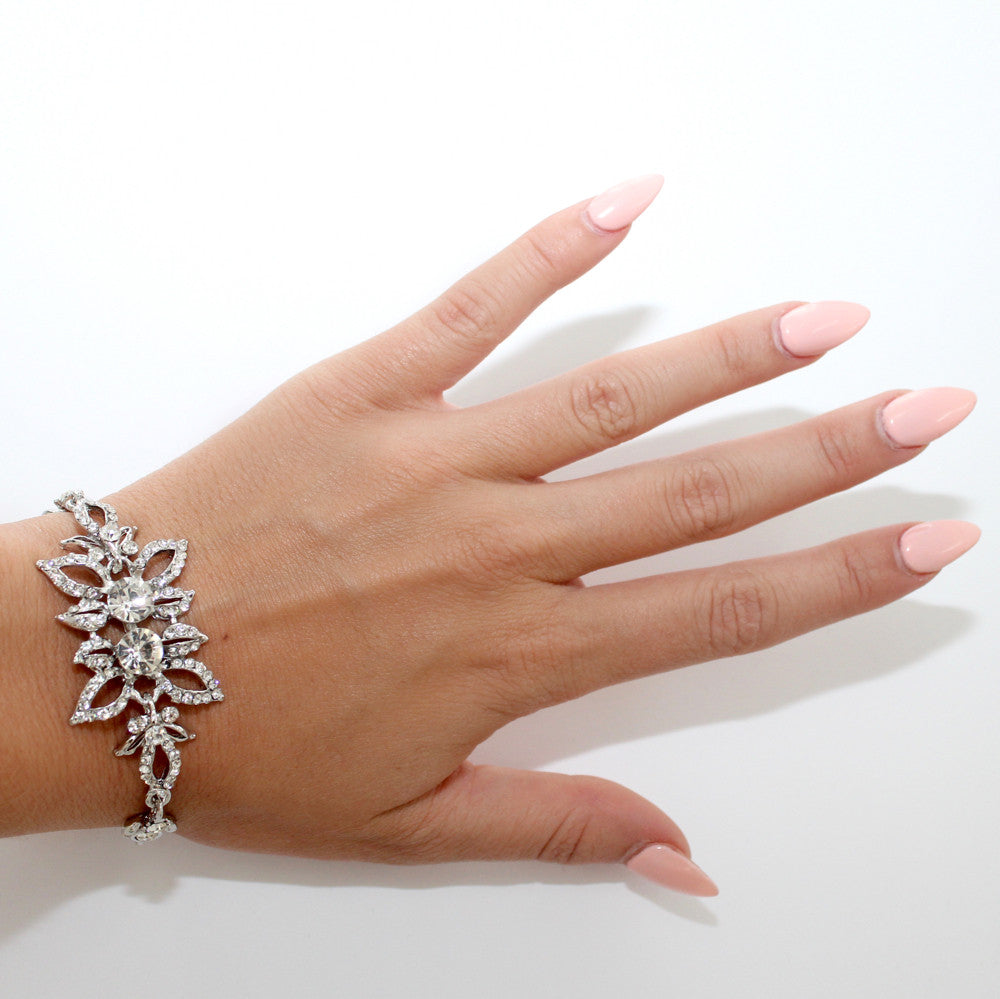 Load image into Gallery viewer, Silver Garden Bracelet