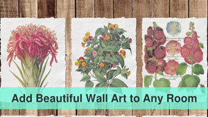 Add Beautiful Wall Art to Any Room