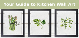 Your Guide to Kitchen Wall Art