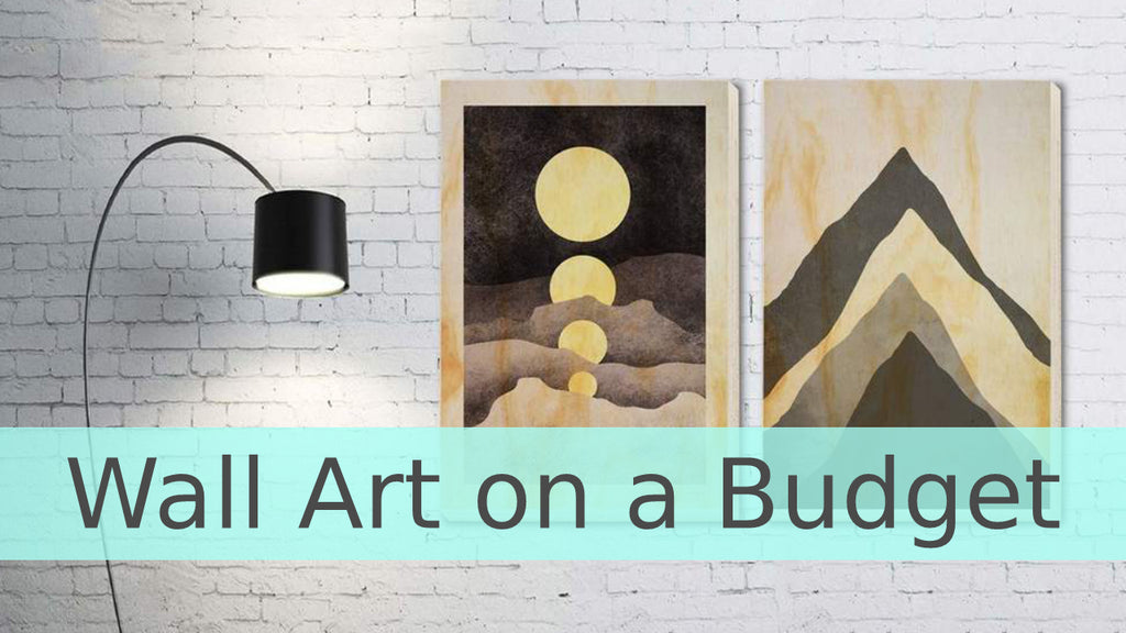 Wall Art on a Budget