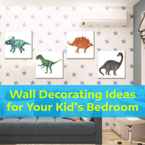 Wall Decorating Ideas for Your Kid's Bedroom