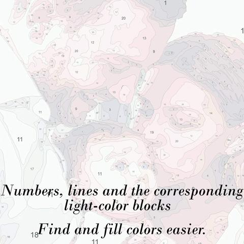 how to paint by numbers