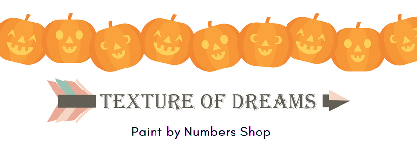Paint by Numbers Kit | texture of dreams