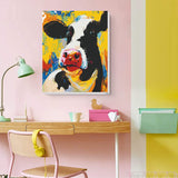 "Cow Portrait PAINT BY NUMBERS KIT 16"" x 20"" - Texture Of Dreams"