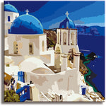 Paint by Numbers Kit for Kids & Adults , Framed Canvas (The First Vacation) - Texture Of Dreams