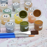 Acrylic Paints-Paint by Numbers Kit