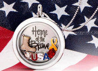 Origami Owl Home Of the Brave Set
