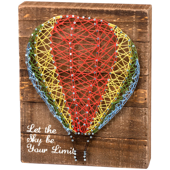 Let the Sky Be Your Limit String Art Sign