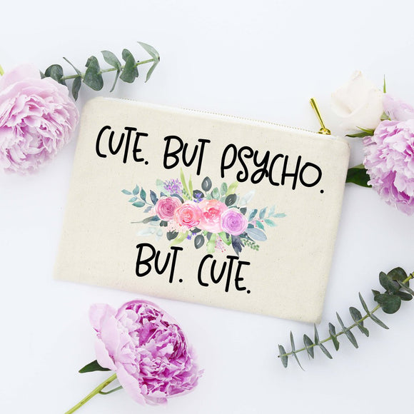 Make Up Bag - Cute But Psycho