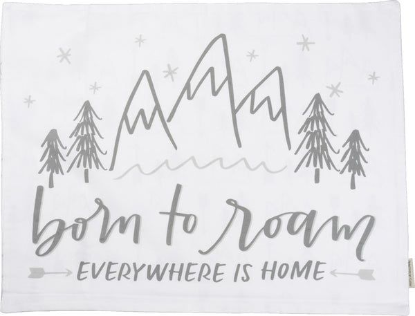 Born to Roam Pillow Case