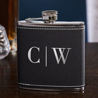 Leatherette Flask - Custom Order