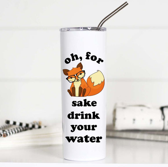 Oh For Fox Sake Tall Travel Cup