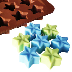 3D Star Silicone Mould | Truly Personal | Wax Melts, Soap