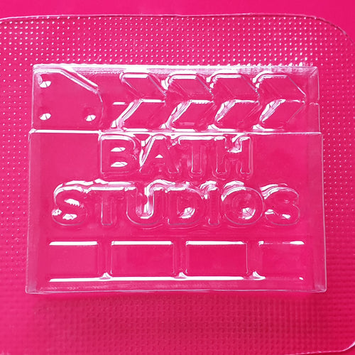 Bath Studios Clapper Board Bath Bomb Mould by Truly Personal