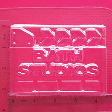 Load image into Gallery viewer, Bath Studios Clapper Board Bath Bomb Mould by Truly Personal