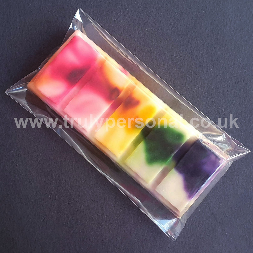 Wax Snap Bar Cello Bags | 65 x 125mm | Truly Personal