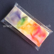 Load image into Gallery viewer, Wax Snap Bar Cello Bags | 65 x 125mm | Truly Personal