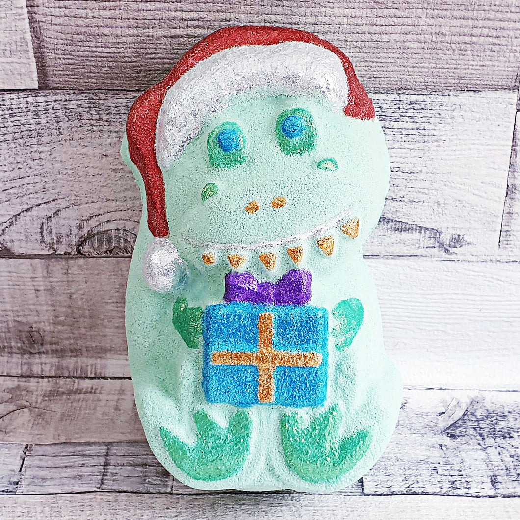 Christmas Dinosaur bath bomb mould by Truly Personal