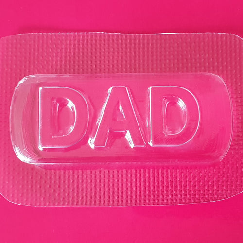 Dad Bath Bomb Mould by Truly Personal