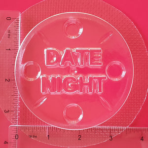 Date Night Movie Reel Bath Bomb Mould by Truly Personal