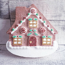 Load image into Gallery viewer, Gingerbread House Bath Bomb Mould by Truly Personal
