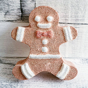 Gingerbread Man Bath Bomb Mould by Truly Personal