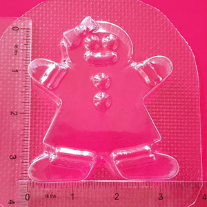 Gingerbread Woman Bath Bomb Mould by Truly Personal