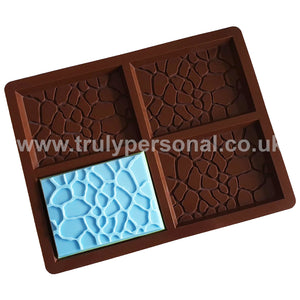 Giraffe Bar Silicone Mould - 4 Cell