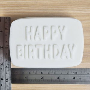 Happy Birthday Bath Bomb Mould by Truly Personal