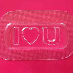 I Love You Mould by Truly Personal